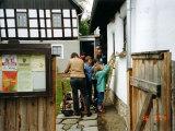 Besuch im Winkelmannhaus in Triebes