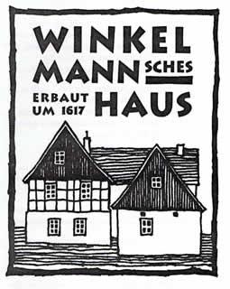 Logo vom Winkelmannschen Haus in Triebes