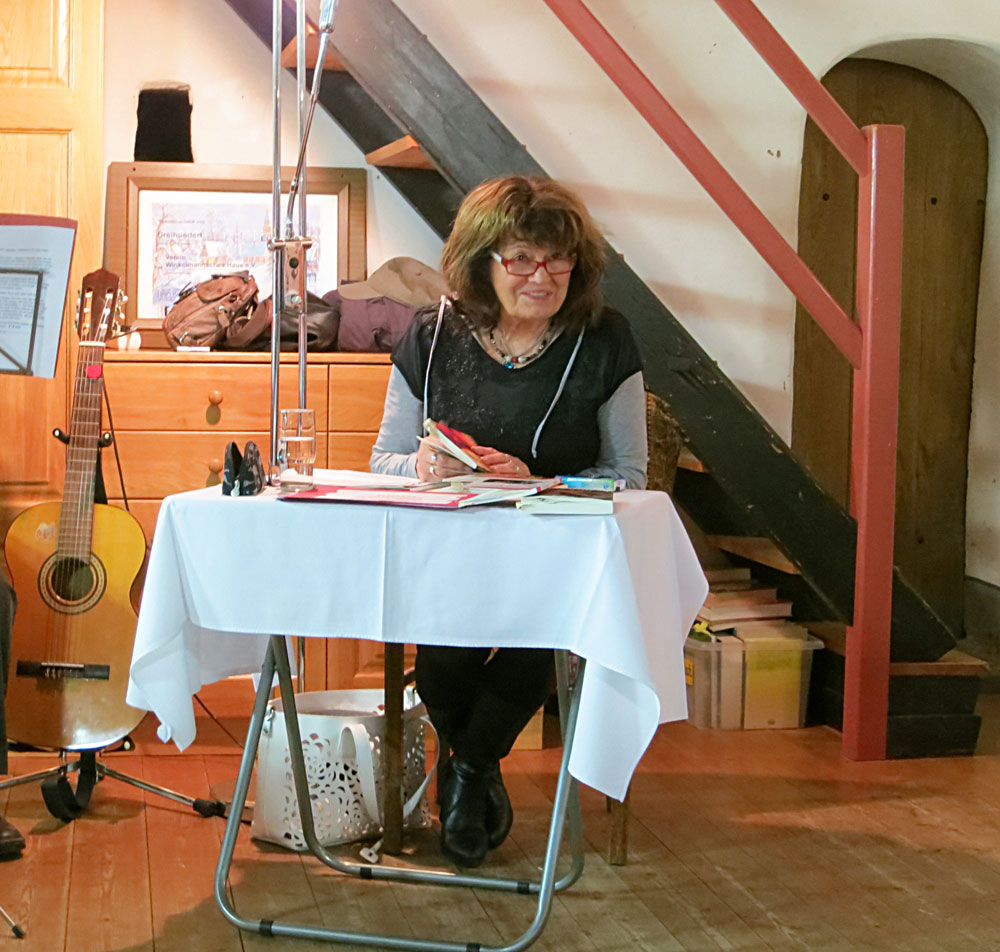 Lesung Anabella Freimann