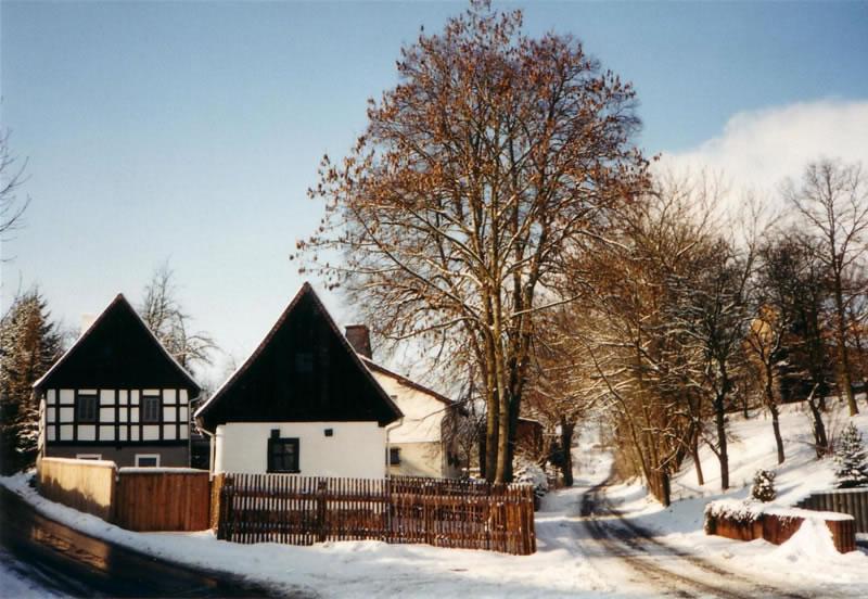 Altes Winkelmannhaus vor dem Wiederaufbau