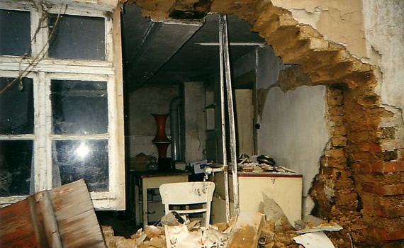 Winkelmannhaus vor der Sanierung