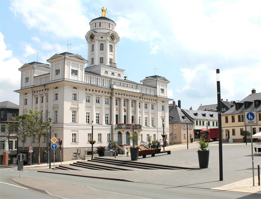 Rathaus von Zeulenroda-Triebes (Foto: S. Klamuth)
